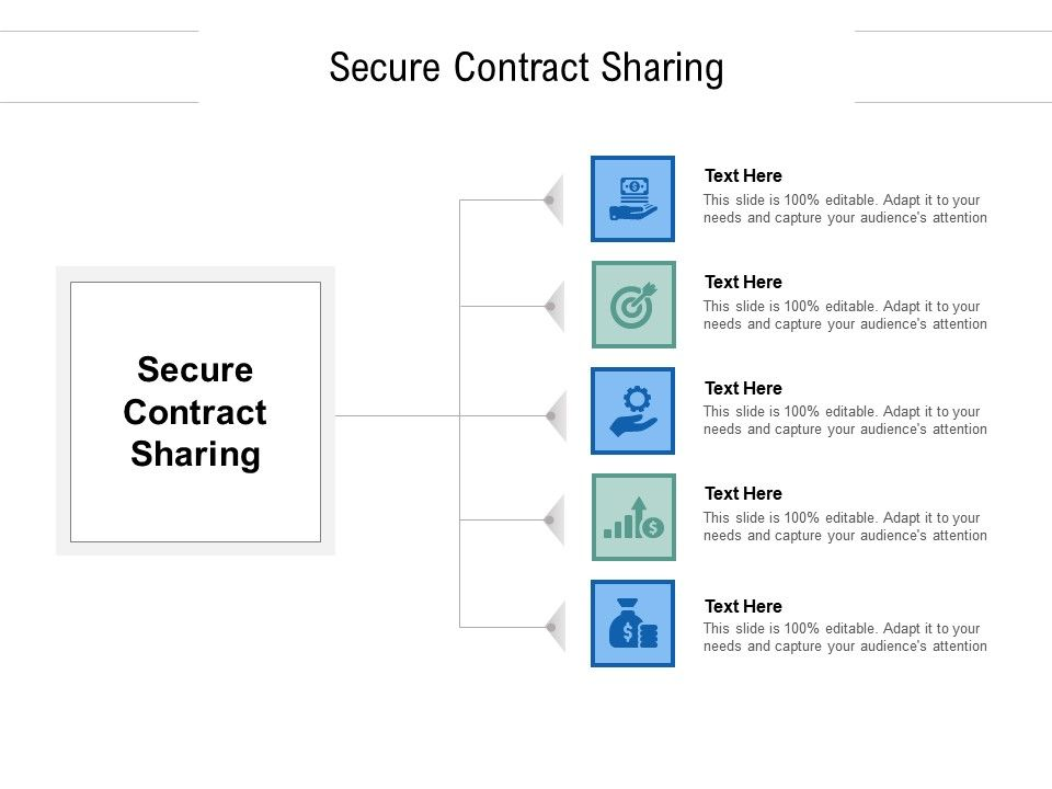 Secure Contract Sharing Ppt Powerpoint Presentation Pictures Elements Cpb