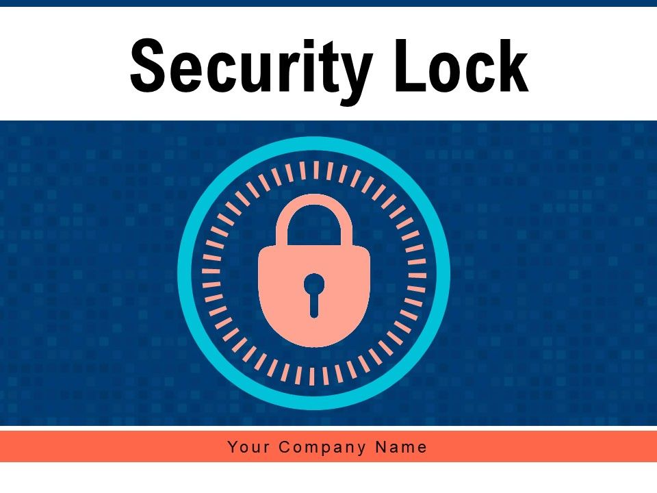 Security Lock Internet Safety Desktop Monitor Network Through Financial