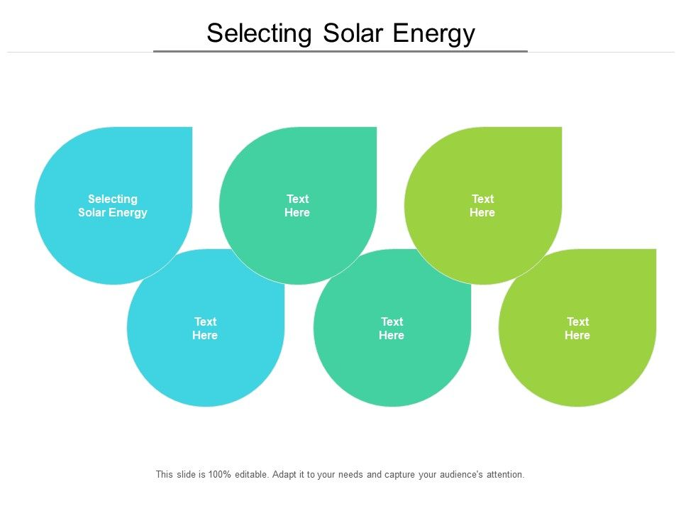 Selecting Solar Energy Ppt Powerpoint Presentation Model Files Cpb