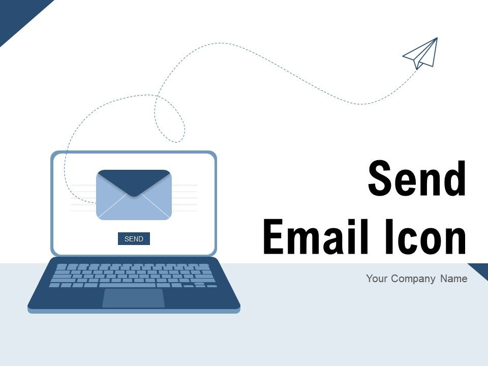 Send Email Icon Through Server Individual Financial Illustrating Representing