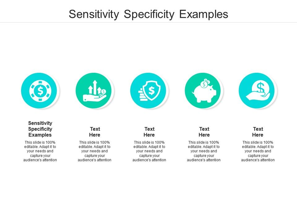 Sensitivity Specificity Examples Ppt Powerpoint Presentation Inspiration File Formats Cpb