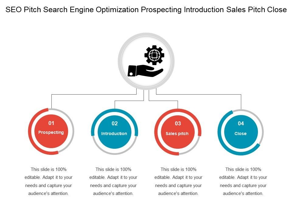 Seo Pitch Search Engine Optimization Prospecting Introduction Sales Close Slide01