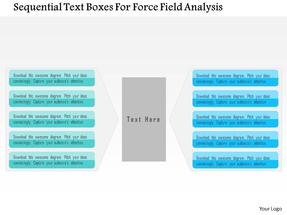 Force Field Analysis Powerpoint Presentation  Presentation