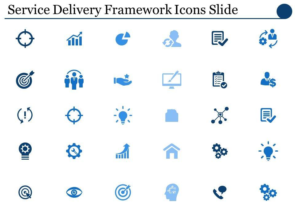 service_delivery_framework_icons_slide_ppt_powerpoint_presentation_file_deck_Slide01