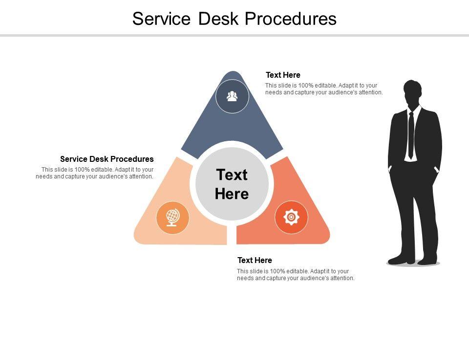 Service Desk Procedures Ppt Powerpoint Presentation Show Good Cpb