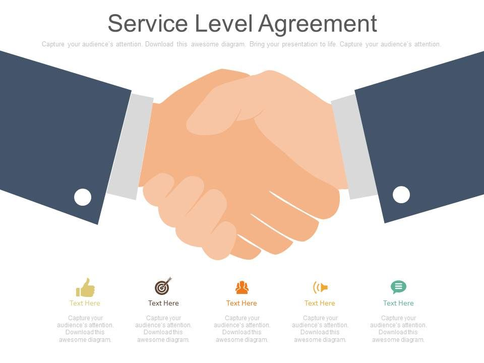 Service Level Agreement Ppt Slides  Powerpoint Presentation Slides