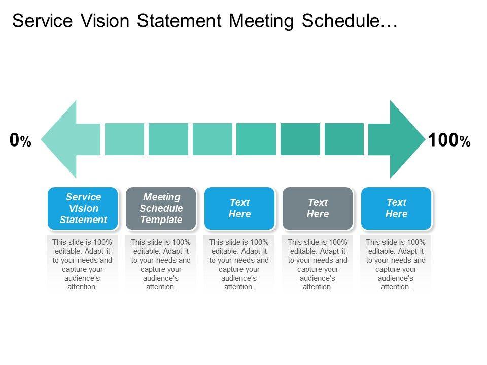service meeting schedule template