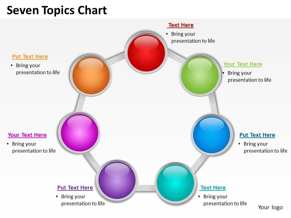 seven_topics_chart_powerpoint_diagrams_presentation_slides_graphics_0912_Slide01