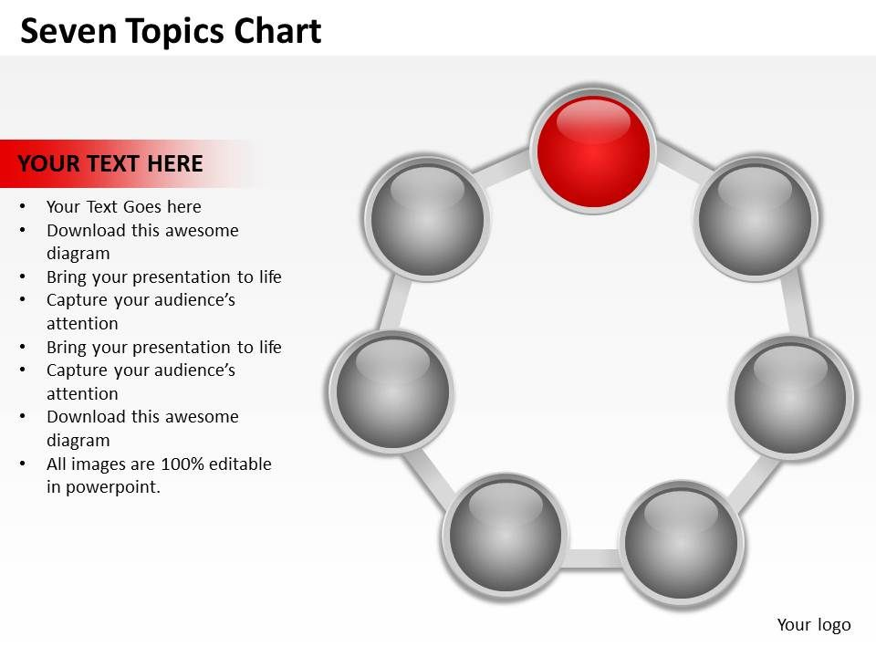 seven_topics_chart_powerpoint_diagrams_presentation_slides_graphics_0912_Slide02