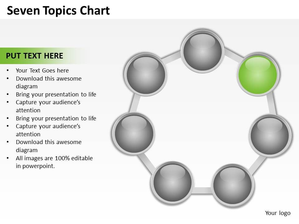 seven_topics_chart_powerpoint_diagrams_presentation_slides_graphics_0912_Slide03
