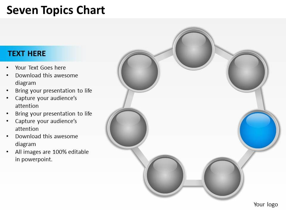 seven_topics_chart_powerpoint_diagrams_presentation_slides_graphics_0912_Slide04
