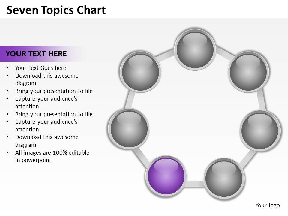 seven_topics_chart_powerpoint_diagrams_presentation_slides_graphics_0912_Slide06