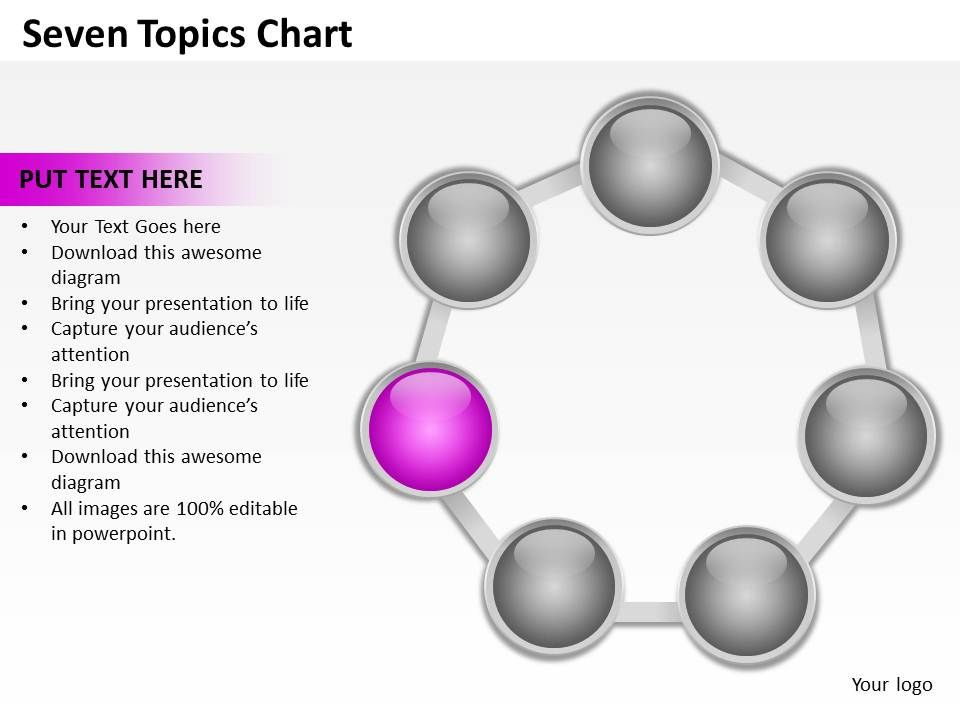 seven_topics_chart_powerpoint_diagrams_presentation_slides_graphics_0912_Slide07