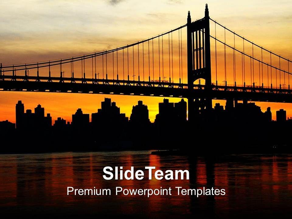 silhouette_of_bridge_over_sunset_powerpoint_templates_ppt_backgrounds_for_slides_0213_Slide01
