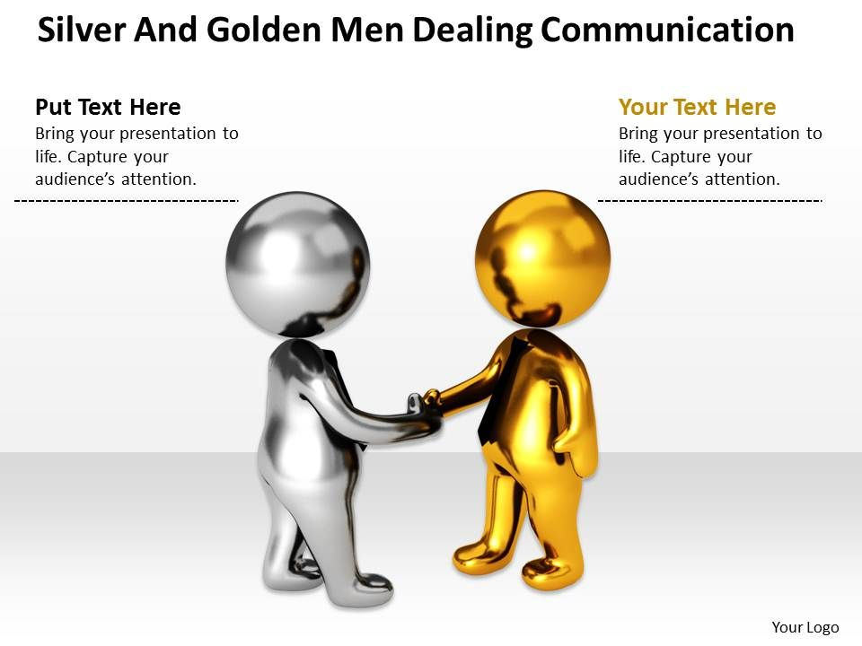 silver_and_golden_men_dealing_communication_ppt_graphics_icons_powerpoint_0529_Slide01