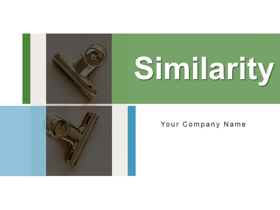Similarity Structure Business Manufacturing Products Measurement
