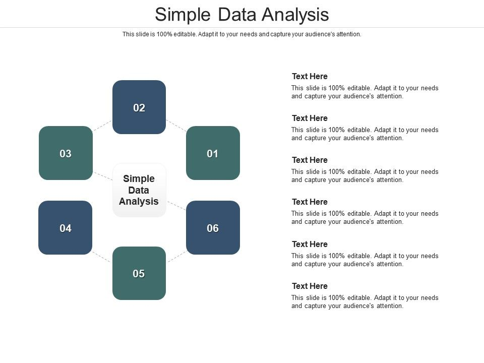 Simple Data Analysis Ppt Powerpoint Presentation Infographics Professional Cpb