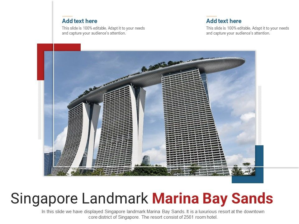 Singapore Landmark Marina Bay Sands Powerpoint Presentation Ppt Template