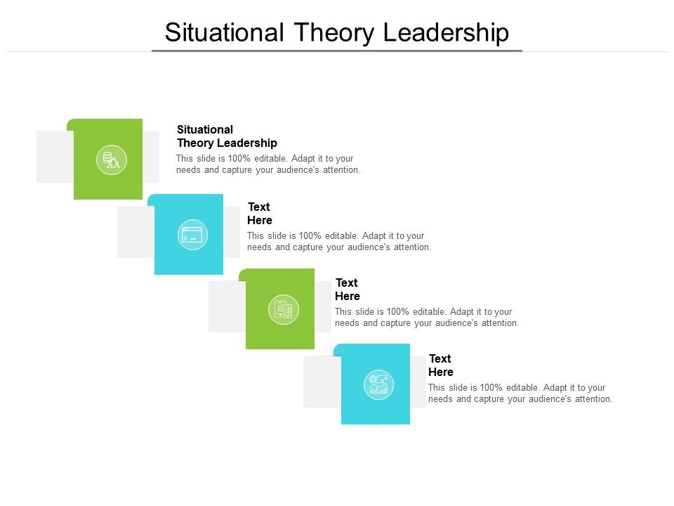 Situational Theory Leadership Ppt Powerpoint Presentation Gallery Influencers Cpb