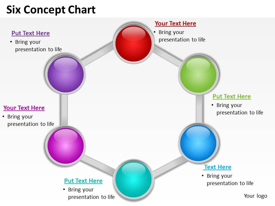 six_concept_chart_powerpoint_diagrams_presentation_slides_graphics_0912_Slide01