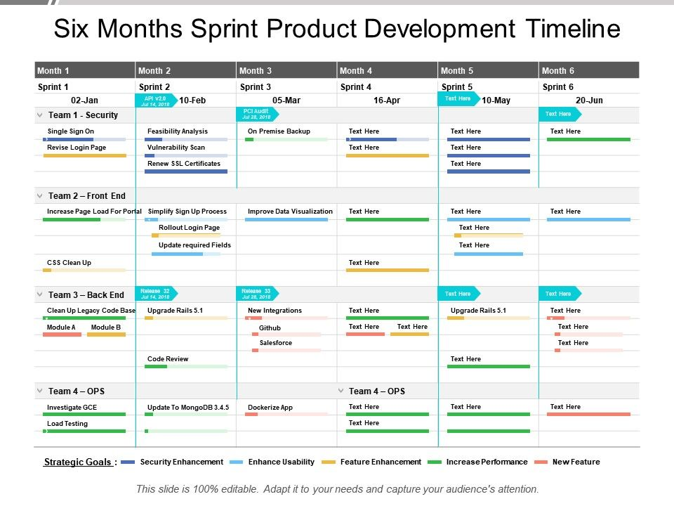 six_months_sprint_product_development_timeline_Slide01