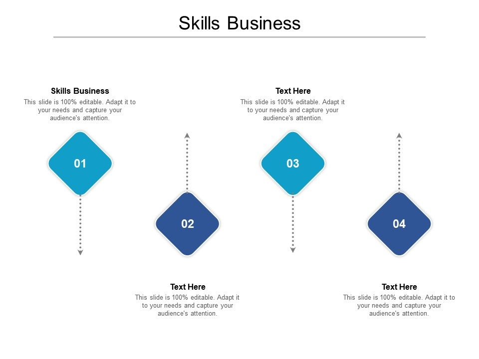 Skills Business Ppt Powerpoint Presentation Outline Aids