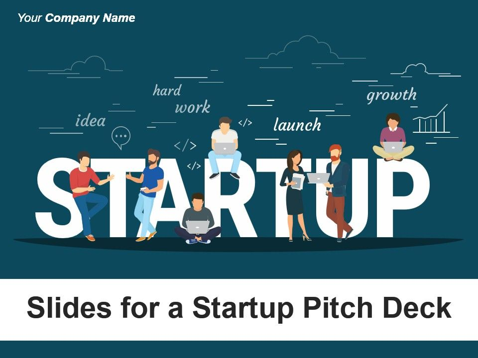 slides for a startup pitch deck powerpoint presentation