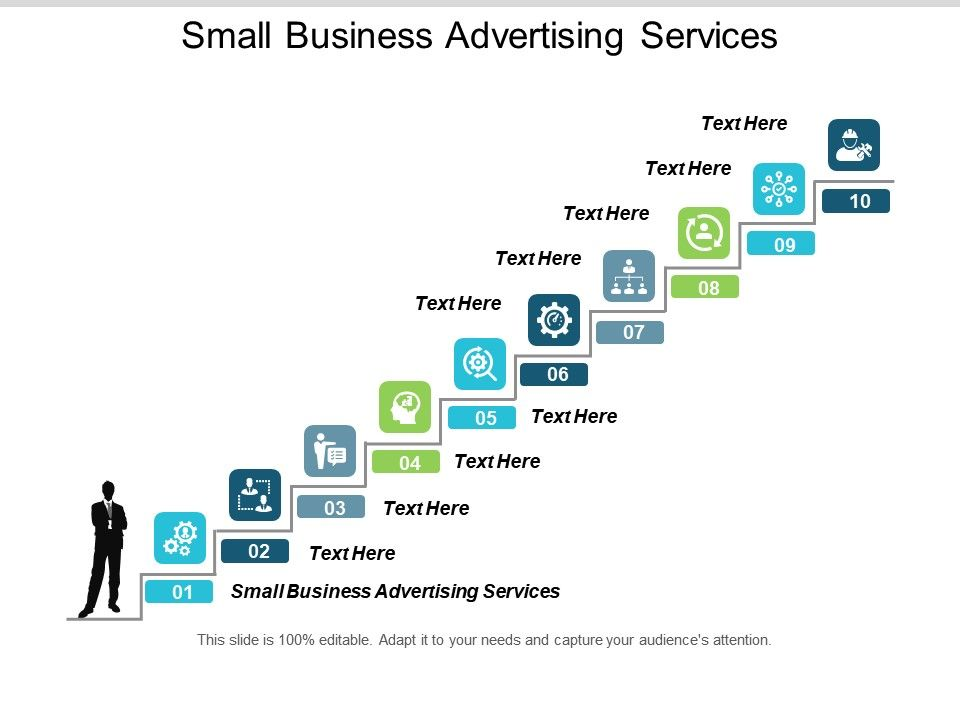 Small Business Advertising Services Ppt Powerpoint Presentation Slides Format Ideas Cpb