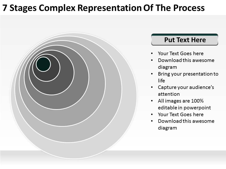 small_business_network_diagram_7_stages_complex_representation_of_the_process_powerpoint_templates_Slide02