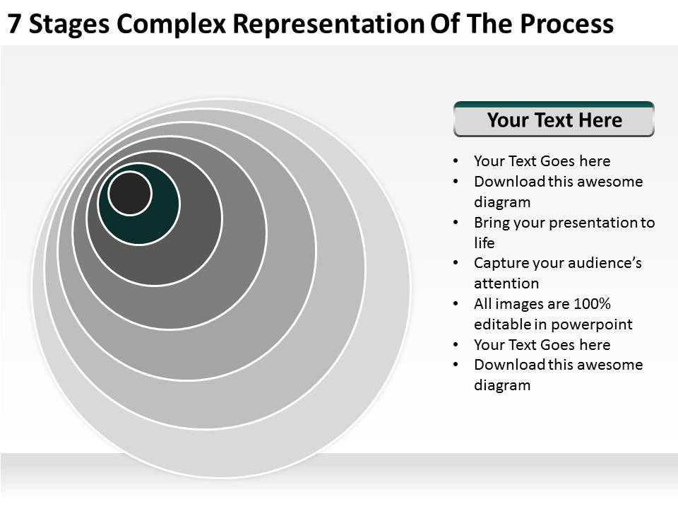 small_business_network_diagram_7_stages_complex_representation_of_the_process_powerpoint_templates_Slide03