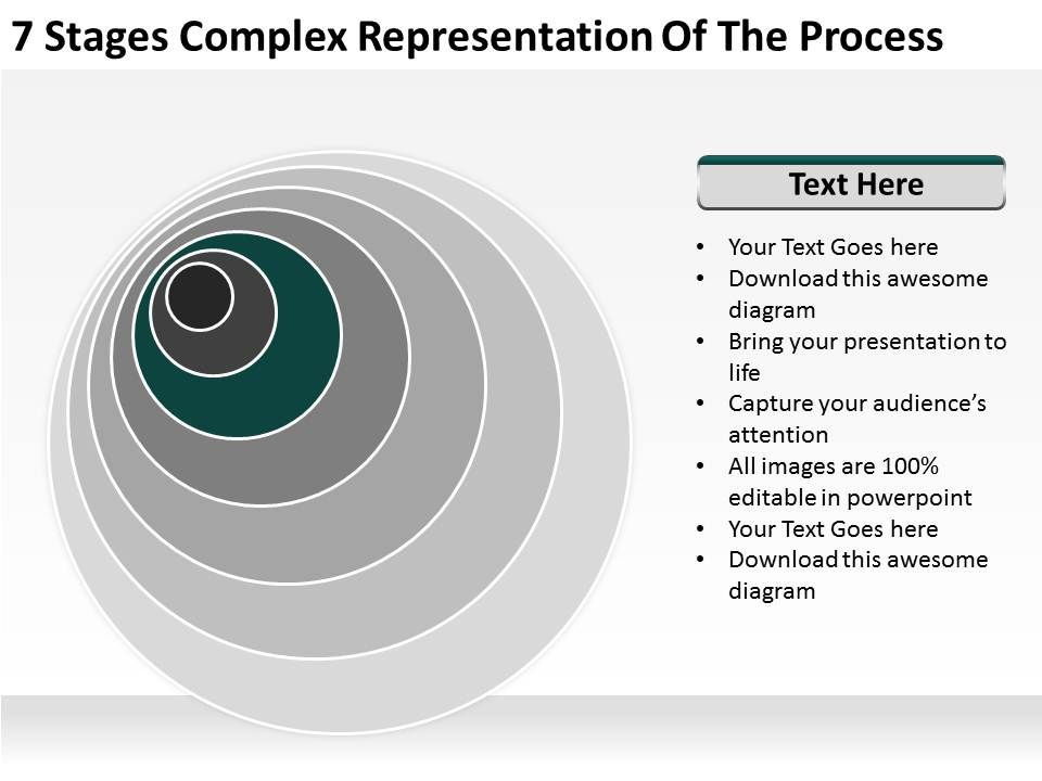 small_business_network_diagram_7_stages_complex_representation_of_the_process_powerpoint_templates_Slide04