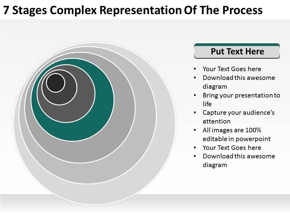 small_business_network_diagram_7_stages_complex_representation_of_the_process_powerpoint_templates_Slide05