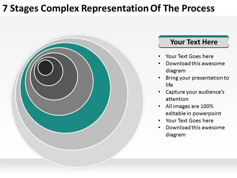 small_business_network_diagram_7_stages_complex_representation_of_the_process_powerpoint_templates_Slide06