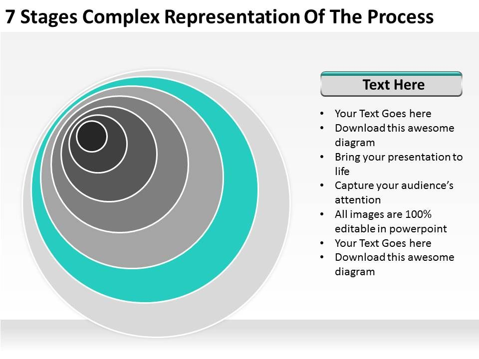 small_business_network_diagram_7_stages_complex_representation_of_the_process_powerpoint_templates_Slide07