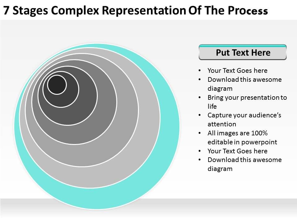 small_business_network_diagram_7_stages_complex_representation_of_the_process_powerpoint_templates_Slide08