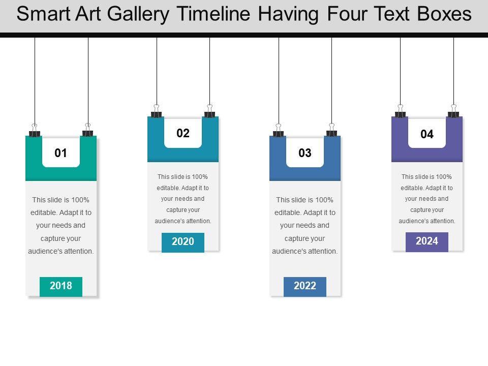 powerpoint smart art timeline