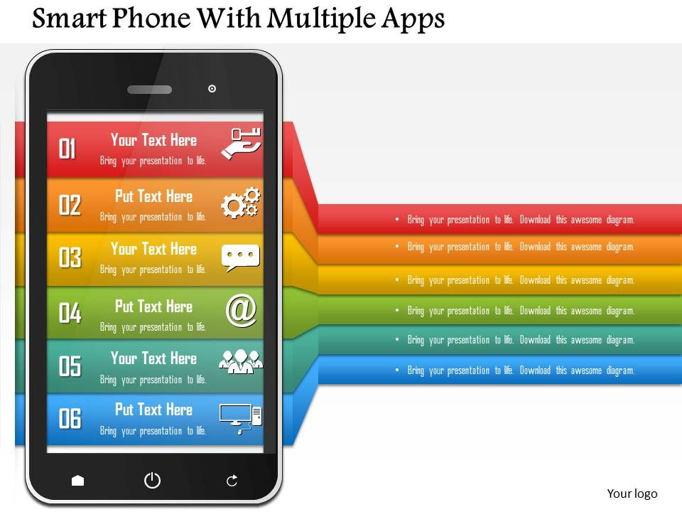 Smart phone with multiple apps powerpoint template presentation smartphonewithmultipleappspowerpointtemplateslide01 smartphonewithmultipleappspowerpointtemplateslide02 toneelgroepblik Images
