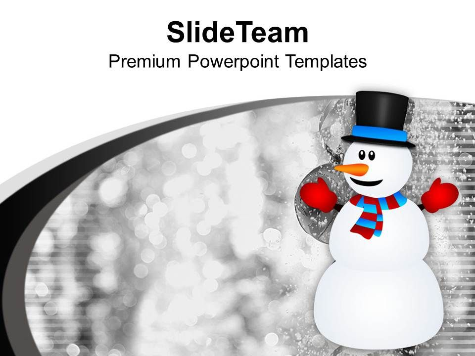 snowman_background_x_max_decoration_powerpoint_templates_ppt_themes_and_graphics_0113_Slide01