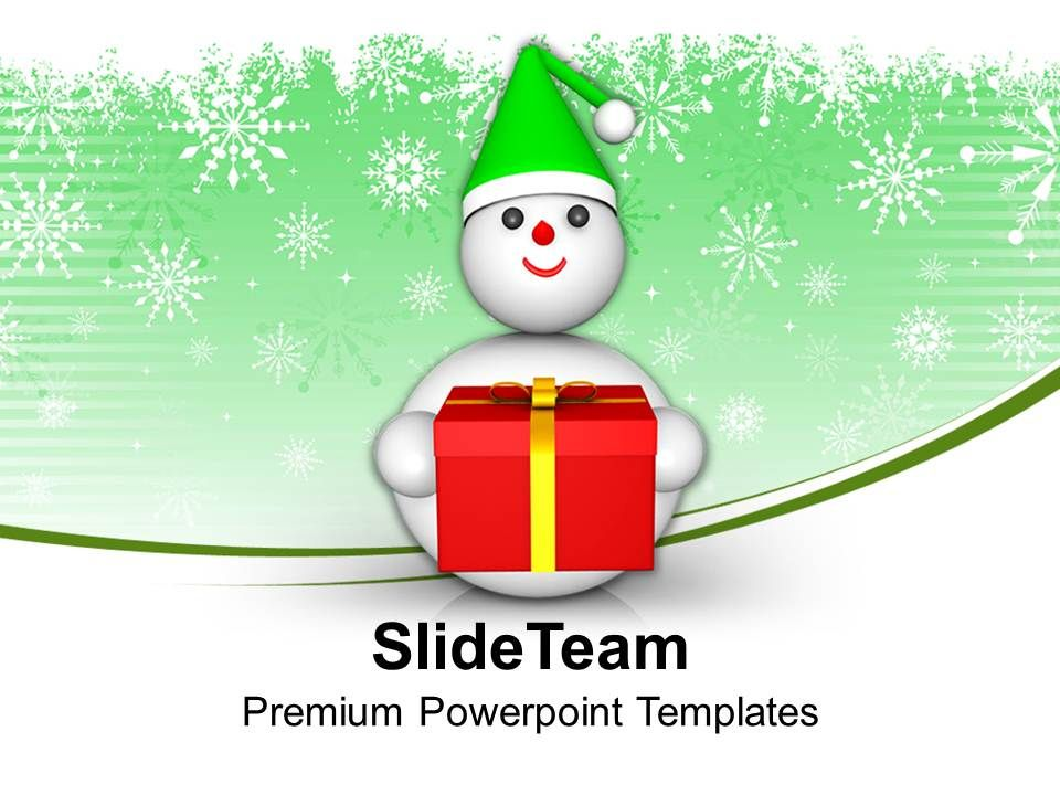 snowman_with_gift_celebration_powerpoint_templates_ppt_themes_and_graphics_0113_Slide01