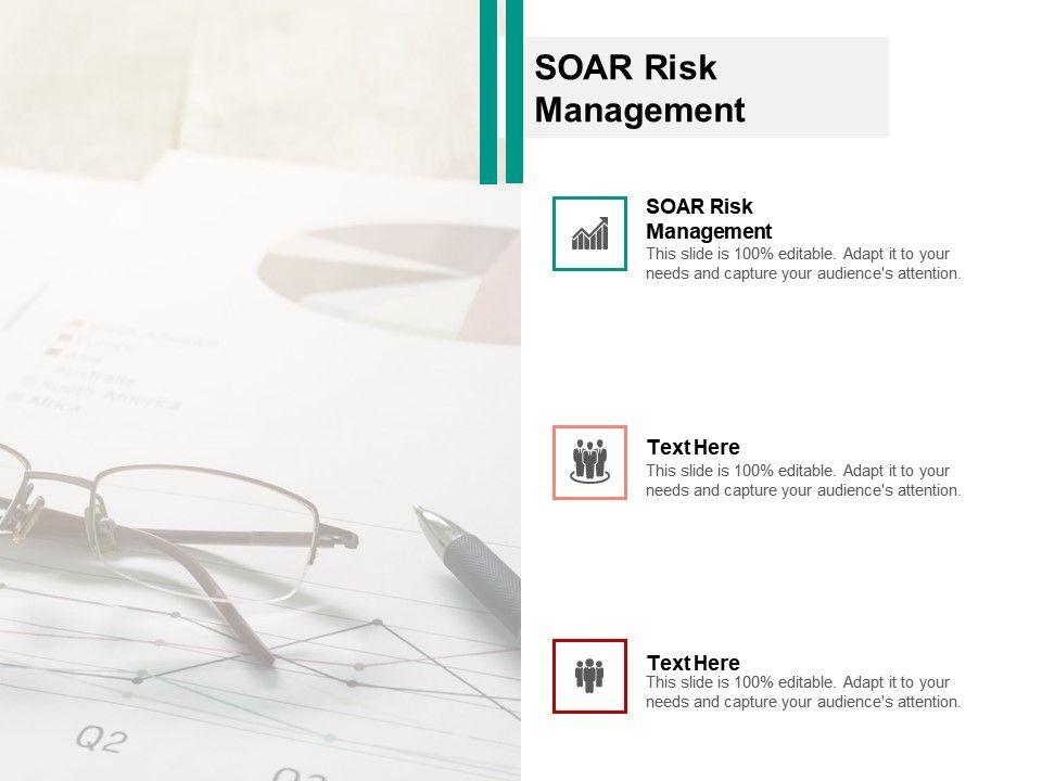 SOAR Risk Management Ppt Powerpoint Presentation Ideas Model Cpb