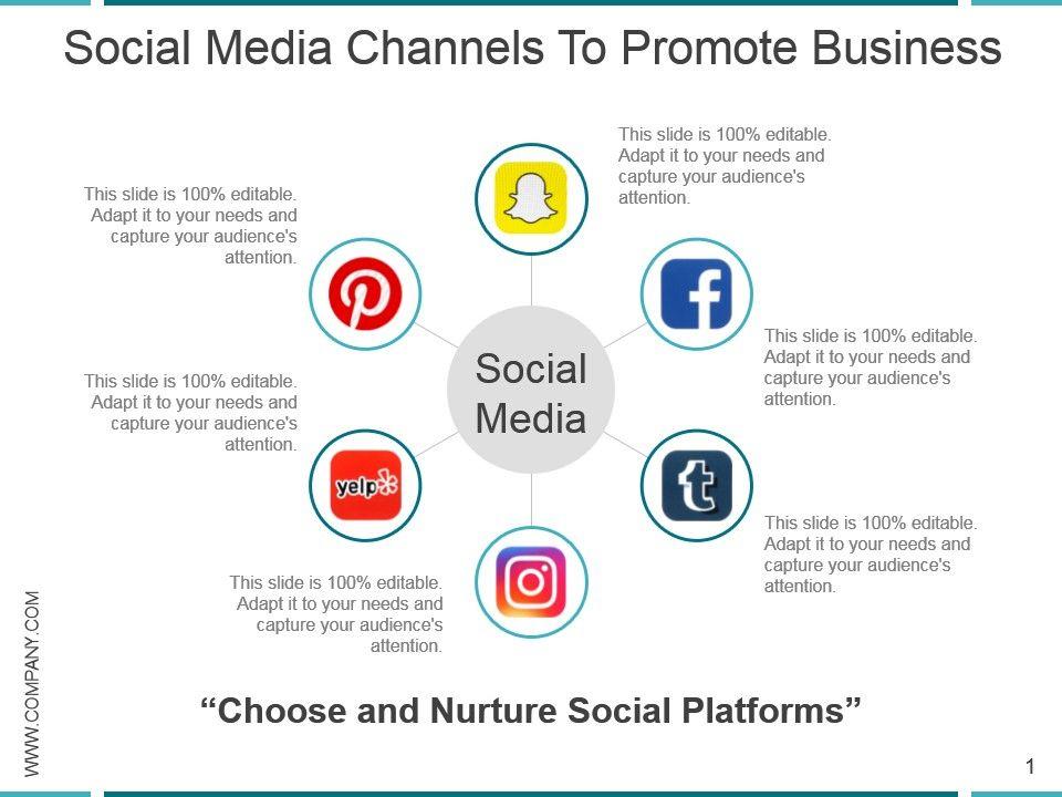 Social media presentation template youtube.