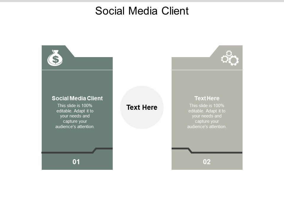 Social Media Client Ppt Powerpoint Presentation Ideas Icons Cpb