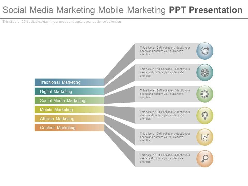 social media marketing mobile marketing ppt presentation