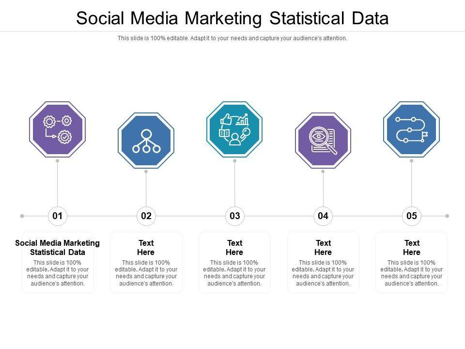 Social Media Marketing Statistical Data Ppt Powerpoint Presentation Outline Slide Portrait Cpb