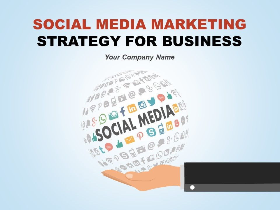 Social Media Marketing Strategy For Business Powerpoint