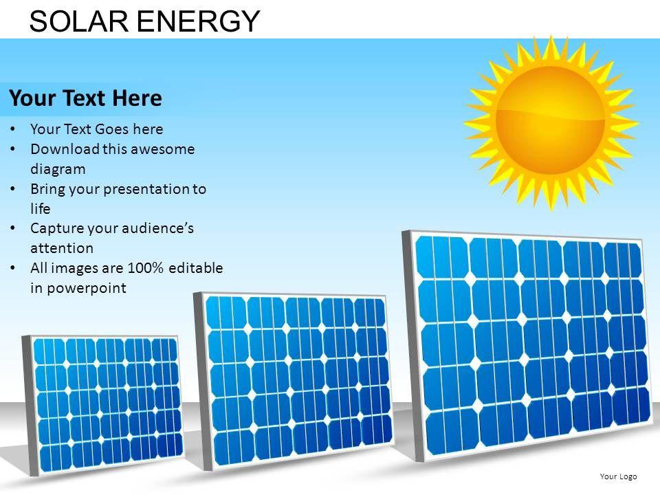 Solar Energy Powerpoint Presentation Slides DB | PowerPoint ...