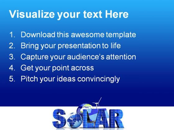 Solar science powerpoint templates and powerpoint backgrounds 0211