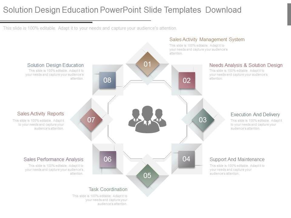 Solution Design Education Powerpoint Slide Templates Download ...