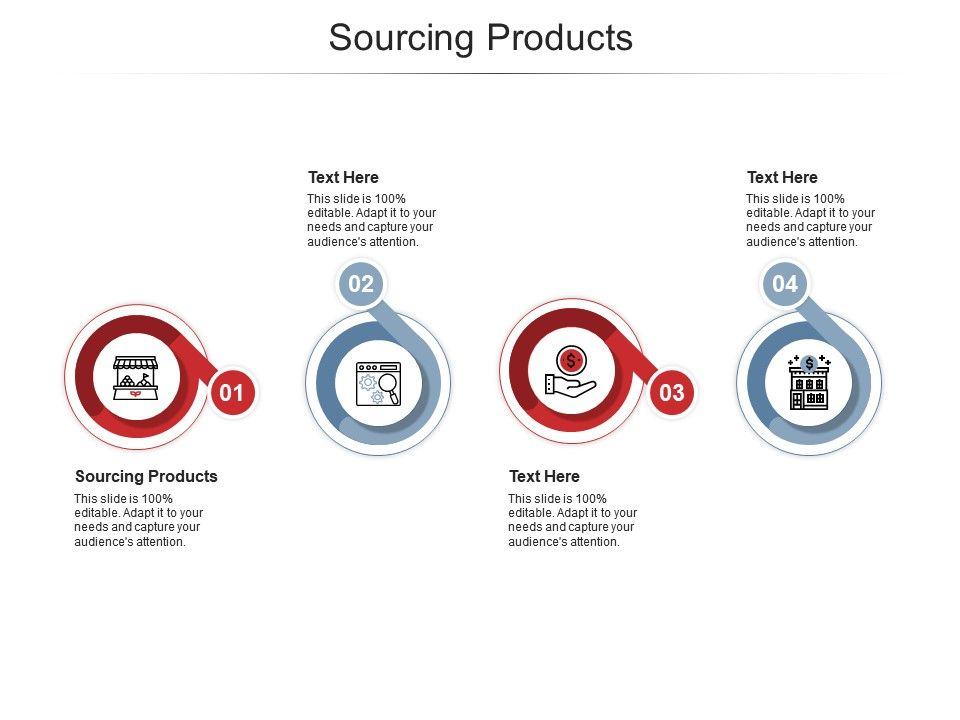 Sourcing Products Ppt Powerpoint Presentation Slides Microsoft Cpb