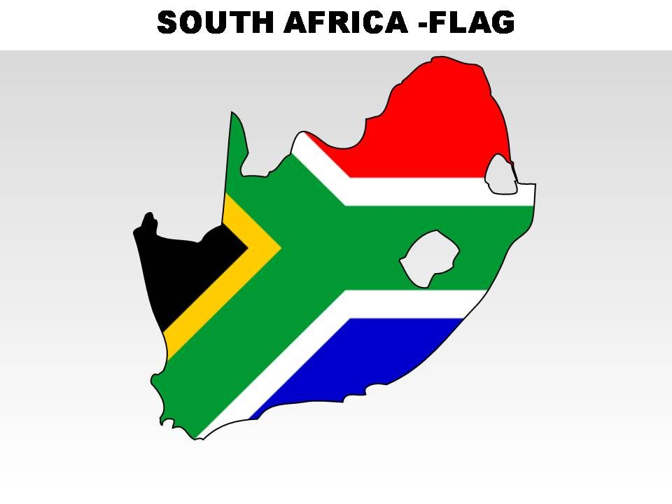South Africa Country Powerpoint Flags  PowerPoint Templates